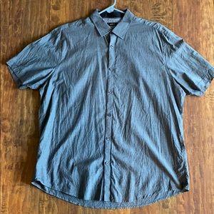 Alfani short sleeve button down shirt